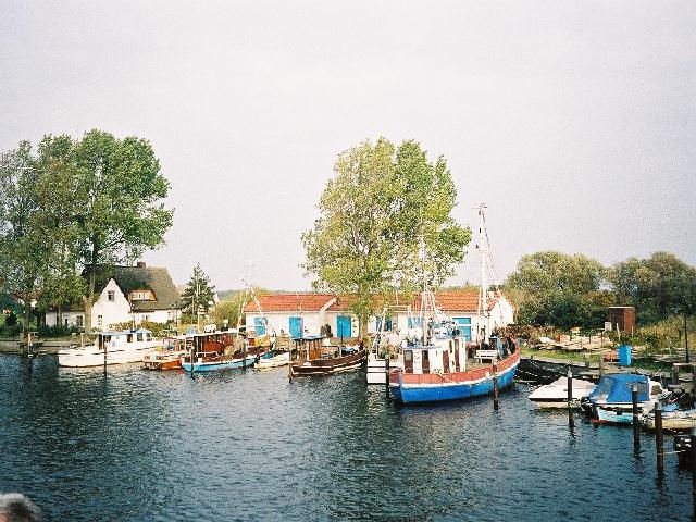 Hiddensee Hafen