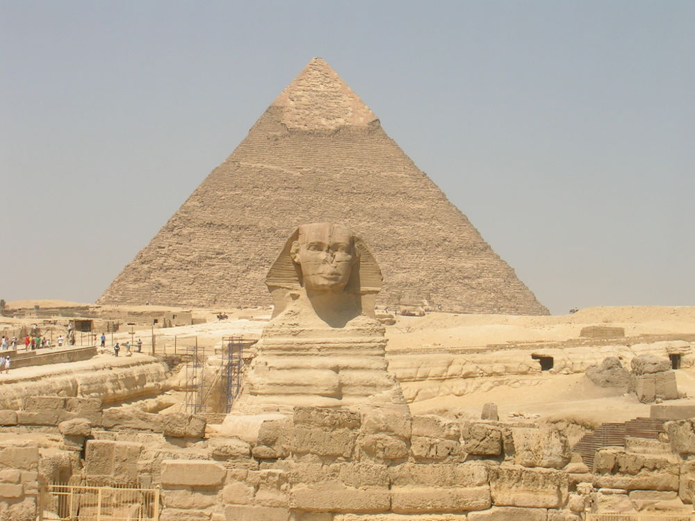 Sphinx Pyramide Gizeh